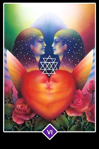 Los Amantes  - Osho Zen Tarot