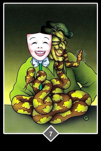 Política  - Osho Zen Tarot