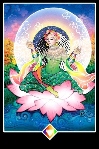 Floreciendo  - Osho Zen Tarot
