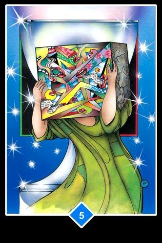 Agarrándose Al Pasado  - Osho Zen Tarot